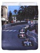 Monte Carlo Casino Corner Duvet Cover