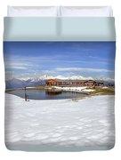 Monte Tamaro - Alpe Foppa - Ticino - Switzerland Duvet Cover by Joana Kruse