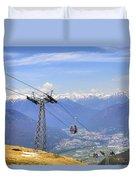 Monte Tamaro - Switzerland Duvet Cover
