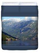 Montenegro's Black Mountains Duvet Cover