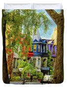 Montreal  Architecture 2 Duvet Cover
