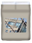 Montreal Reflections Viii Duvet Cover