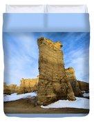 Monument Rocks Duvet Cover