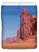 Monument Valley Elrphant Butte And Hogan Duvet Cover