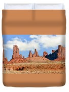 Monument Valley Totem Pole Duvet Cover