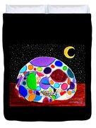 Moon Doggy Duvet Cover