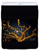 Moon Light And Tree Duvet Cover