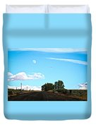 Moon Road Duvet Cover
