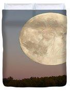 Moon Warrior Duvet Cover