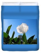 Moonflower Rising Duvet Cover