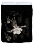 Moonlight Columbine Duvet Cover