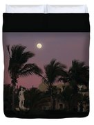 Moonlit Resort Duvet Cover