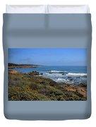 Moonstone Beach Duvet Cover by Heidi Smith