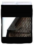 Moorhead Stave Church 12 Duvet Cover