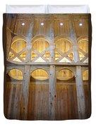 Moorhead Stave Church 14 Duvet Cover