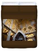 Moorhead Stave Church 17 Duvet Cover