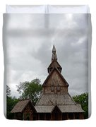Moorhead Stave Church 2 Duvet Cover