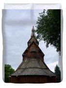 Moorhead Stave Church 7 Duvet Cover