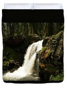 Moose Falls Duvet Cover