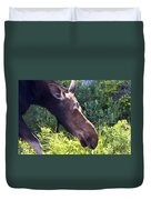 Moose Profile Duvet Cover
