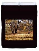 More Fall Trees Duvet Cover