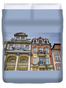 More Posnan Shops - Poland Duvet Cover
