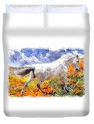 Morisco In Spring Flowers Duvet Cover