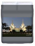 Mormon Cathederal San Diego 2 Duvet Cover