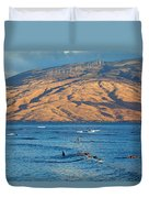 Morning At Cove Park Duvet Cover