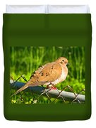 Morning Dove II Photoart Duvet Cover