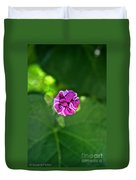 Morning Glory Puckered Up Duvet Cover