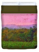 Morning In The Mountains Duvet Cover