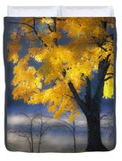 Morning Maple Duvet Cover by Rob Travis
