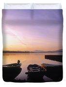 Morning Over Lough Leane, Killarney, Co Duvet Cover