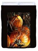 Morning Pumpkins Duvet Cover
