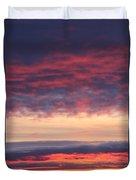 Morning Sky Portrait Duvet Cover