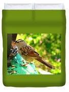 Morning Sparrow II Duvet Cover