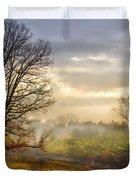 Morning Trees Duvet Cover