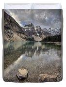 Morraine Lake Alberta Duvet Cover