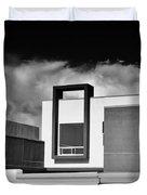 Morrison Window Bw Palm Springs Duvet Cover