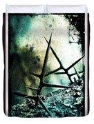 Mortal Combat Duvet Cover by Judi Bagwell
