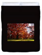 Morton Arboretum In Colorful Fall Duvet Cover by Paul Ge