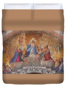 Mosaic In San Marco Square Venice Duvet Cover
