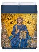 mosaic inside Hagia Sophia  Duvet Cover