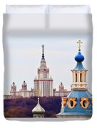 Moscow State Universite  Duvet Cover