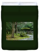 Moss Covered Garden Duvet Cover