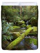 Moss Flourishing Duvet Cover