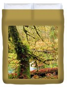 Mossy Bend Duvet Cover