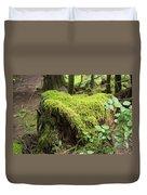 Mossy Old Stump Duvet Cover