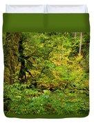 Mossy Rainforest Duvet Cover